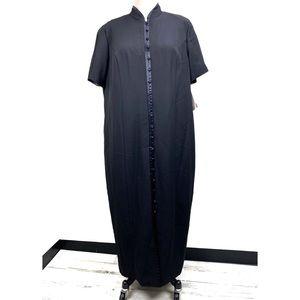NWT Positive Attitude Asian Inspired Dress 24W